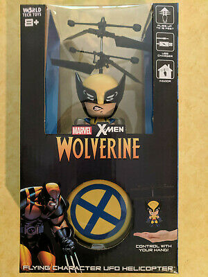 Marvel X-Men Wolverine Flying Figure Helicopter for sale  Shipping to India