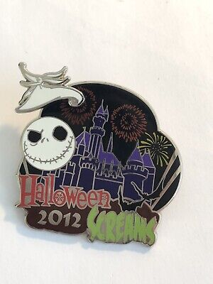 DLR - Mickey's Halloween Party 2012 - Halloween Screams Disney Pin LE (B6) (Disney Halloween Screams)
