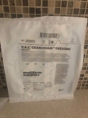 Kci Medium Granufoam Dressing For Use With V.a.c. Therapylot Of 6 Ref M8275052