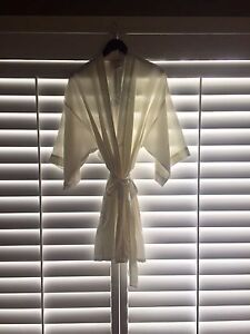 Silk Bridal robe for wedding day for sale