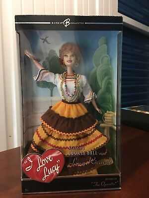 "I Love Lucy Barbie Collector Lucy Ricardo ""The Operetta"""