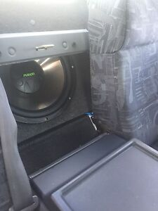 """Fusion 15"""" sub + Kenwood fan cooled amp! Browns Plains Logan Area Preview"""