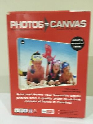 *BRAND NEW* You Frame Photos to Canvas, will make 3 photo canvases - LAST ONE