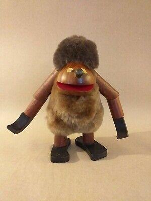 Scandinavian? Style Mid Century Wooden Ape Monkey Figure