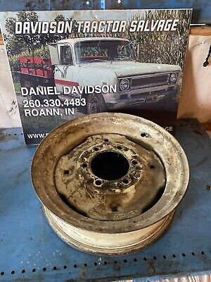 Oliver 60 Front Rim Antique Tractor Nice One