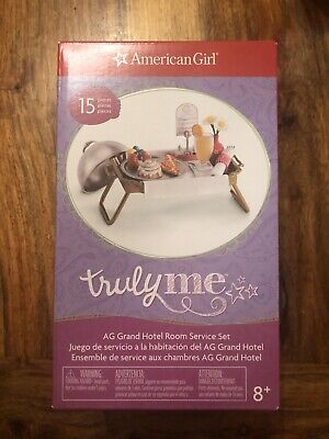 American Girl Truly Me - AG Grand Hotel Room Service Set - 15PC Food/Tray