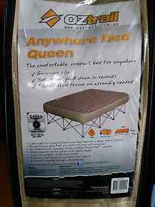 Oz trail anywhere bed queen size. Katamatite Moira Area Preview