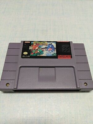 Original Super Mario World 2 Yoshis Island Super Nintendo SNES Authentic/Clean