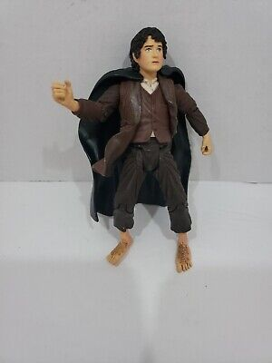 2002 Lord Of The Rings Frodo With Eleven Cloak Action Figure Marvel](Cloak Lord Of The Rings)