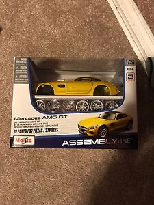 Mercedes AMG GT Model Assembly Car