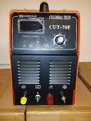 Pilot Arc Plasma Cutter Cut70f Igbt 70amp Inverter Voltage 220v 27 Consumables