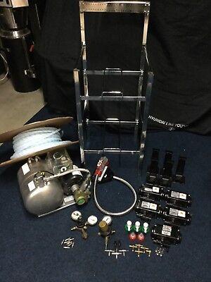 8 Button Wunderbar Soda System Mccanscarbonator 5 Flojet Pumpsplus More
