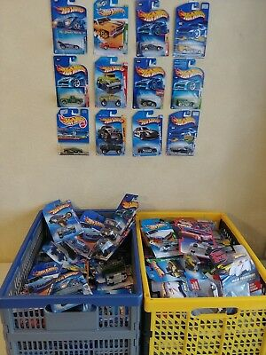 Mixed Lot of 32 Hot Wheels, New on Good Cards, FREE SHIPPING!