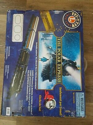 Lionel Polar Express Christmas Model Train Set