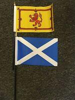Escocés Mano O De Mesa Bandera Fútbol St Andrew Escocia Scots Rugby Royal León -  - ebay.es