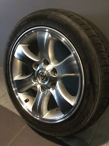 "TOYOTA HIACE PRADO 17"" GENUINE ALLOY WHEELS AND TYRES Carramar Fairfield Area Preview"