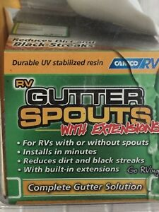 RV Gutter Spouts (brand new) REDUCED