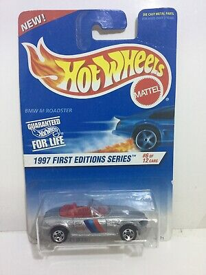 1997 HOT WHEELS FIRST EDITIONS SERIES #518 SILVER BMW M ROADSTER MIP MALAYSIA