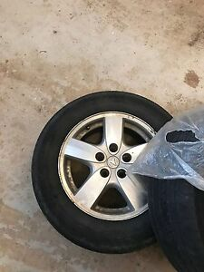 Dodge Grand Caravan alloy wheels