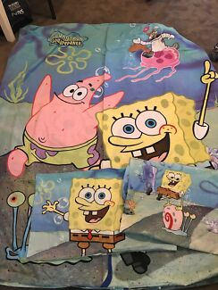 SPONGEBOB SQUAREPANTS KIDS DB QUILT COVER