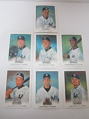 YANKEE BASEBALL GREATS! - DIAMOND KINGS TRADING CARDS 7 CARDS - EXCELLENT COND!