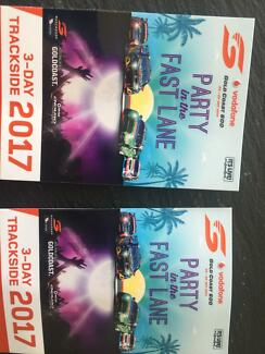 2 x V8 Super cars adult tickets for Sunday