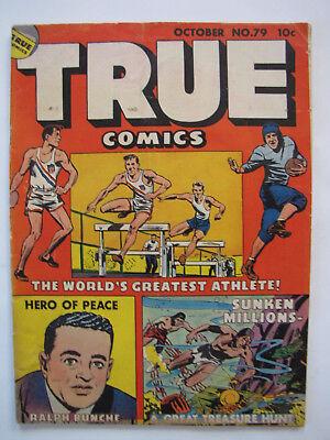 True Comics #79 (October 1949, True) [VG+ 4.5]