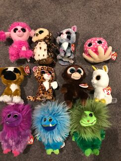 Beanie boos and frizzys by ty. New with tags.$7 each