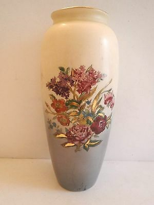 Vintage Art Pottery Vase 13 Inch Tall