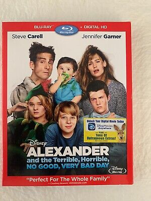 Alexander and the Terrible, Horrible, No Good, Very Bad Day (Blu-ray Disc, (And The No Good Very Bad Day)