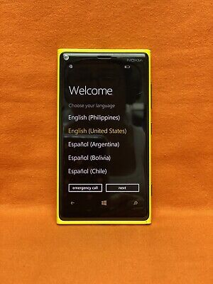 AT&T, NOKIA LUMIA 920 32GB WINDOWS 8 SMATPHONE 4G LTE YELLOW