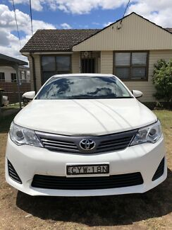 2013 White Toyota Camry Altise 50SER Sedan Automatic