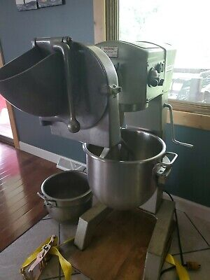 Hobart D-300t 30 Qt Mixer Timer 115 V 12 Hp Donut Dough Pizza