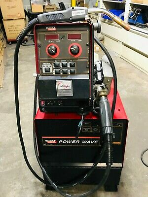 Lincoln Powerwave 455m Pulse Mig Welder