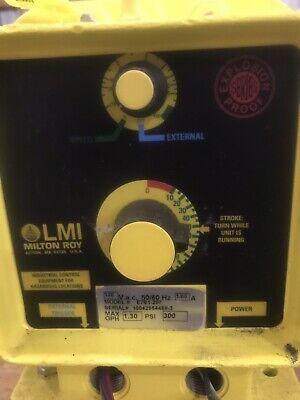 Milton Roy Metering Pump Explosion Proof Model E-751 E701-297