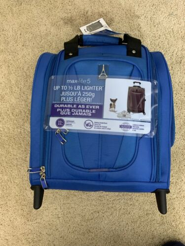"Luggage Maxlite 5 15"" Lightweight Carry On Rolling Under Sea"