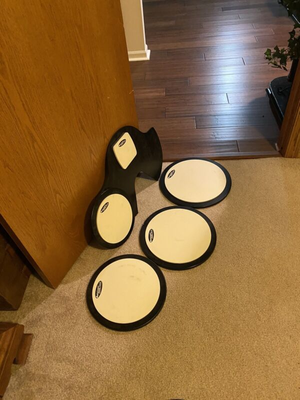 """DW Smart Practice : 10"""", 12"""", 13"""" And 14"""" And Kick Drum."""
