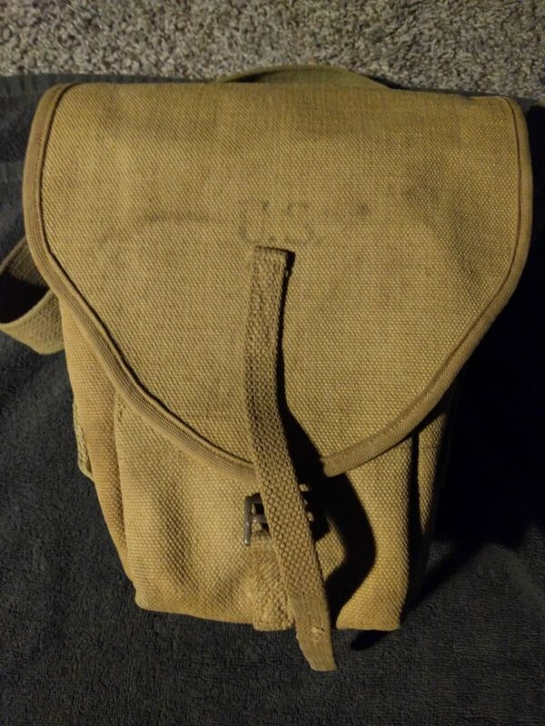 WW1 US French Model 1915 Chuahat Ammo Bag; Excellent,Original Condition,Rare...