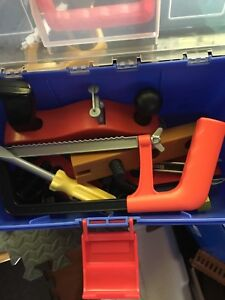 Assorted plastic tools