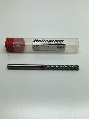 Helical Hal-x-30250 Carbide Square Nose End Mill 14 3 Flutes