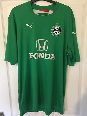 2006/2007 Maccabi Haifa home football shirt XXL men's rare Israel Puma 2XL image