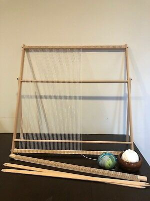 XXL Extra Large Weaving Loom Kit (89cm x 87cm) | Professional Tapestry Loom](Loom Weaving)