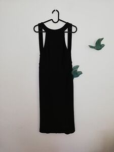 Dion Lee black tank dress DESIGNER WEAR Croydon Park Canterbury Area Preview