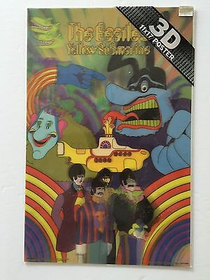 "New 11""x17"" Pyramid The Beatles Yellow Submarine 3D Poster"