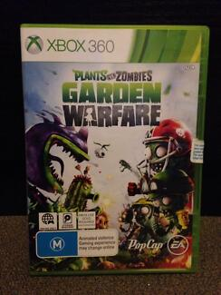 Plants vs zombies Xbox 360 game Newcastle 2300 Newcastle Area Preview