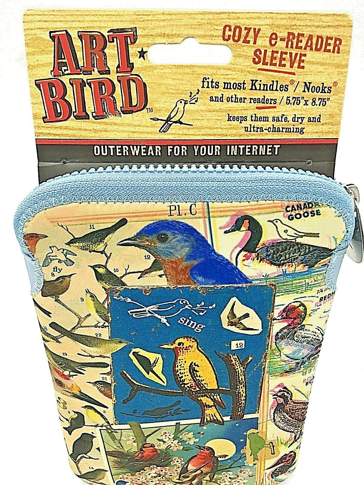 Wholesale Lot 20 ART BIRD KIndle & Nook. Padded Protective c