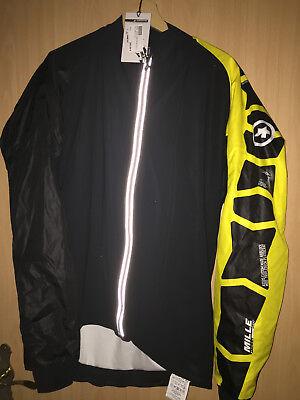 ASSOS sJ Fahrradbekleidung BlitzFeder leichte Jacke Wind und Feuchtigkeitsabweisend black SALE%%