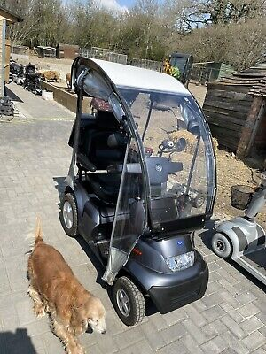 *** 2018 Tga Breeze S4 With Canopy 8mph Mobility Scooter All Terrain Massive ***