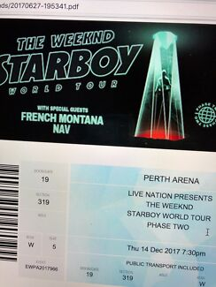 The Weeknd Tickets Perth