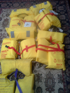 Life jackets - 4 as new